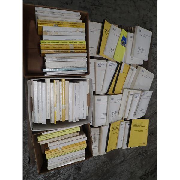 Huge Lot of Fanuc Manuals