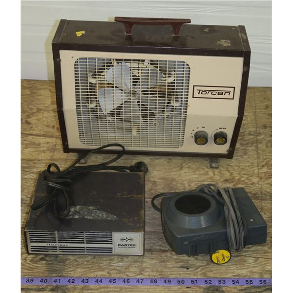 Electric Heater + 2 interior Car Heaters