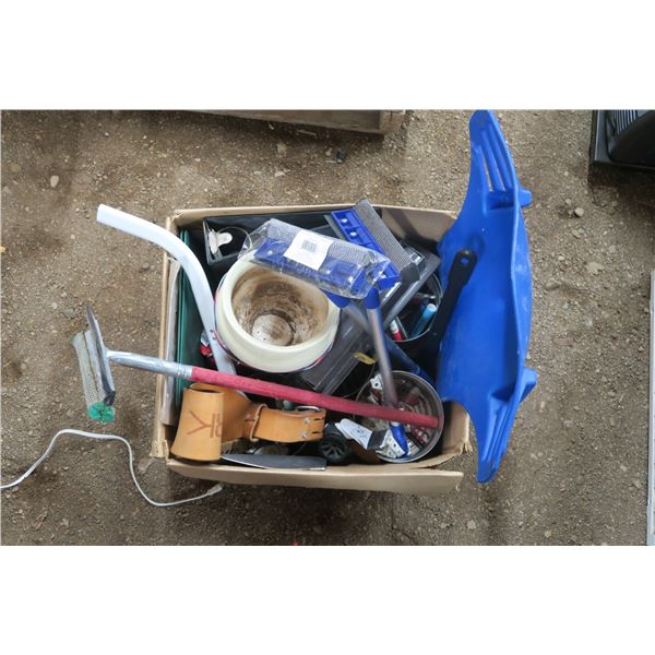 Lot of Squeegees and misc. items