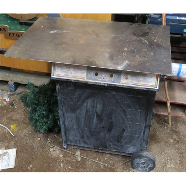 Wheeled Steel Top work Table