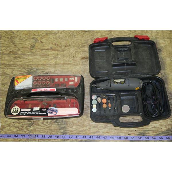 Rotary Tool + Accessory Kit