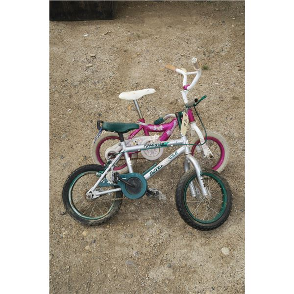 2 kids bicycles