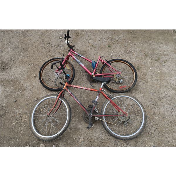 2 bicycles -1 women's, 1 men's