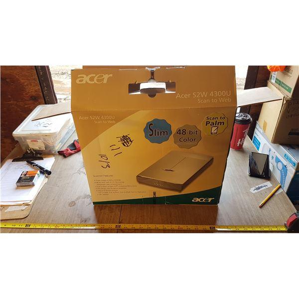 Acer Flatbed Scanner