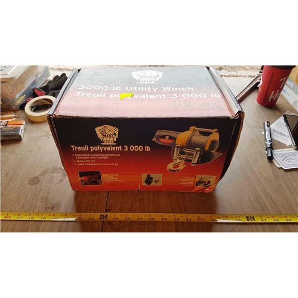 3000 LB Utility Winch