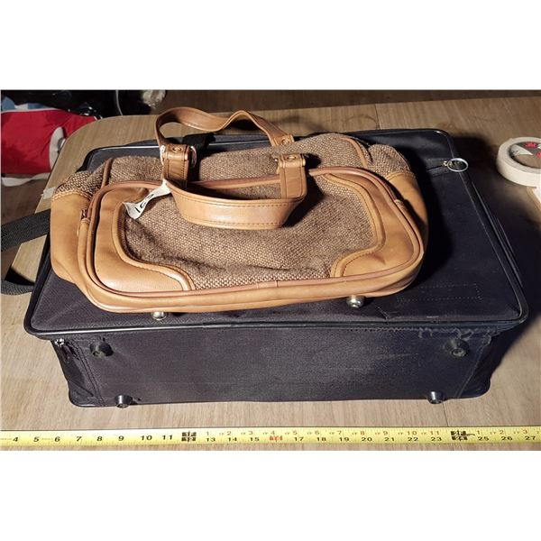 Suitcase & Hand Bag