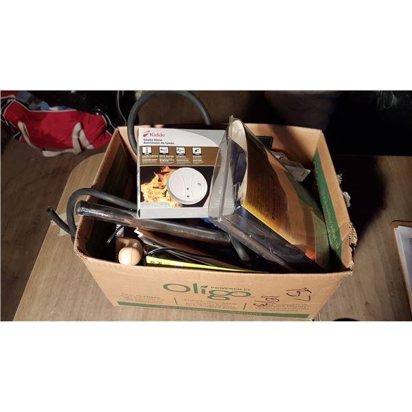 Lot Smoke Detectors & Misc. Items