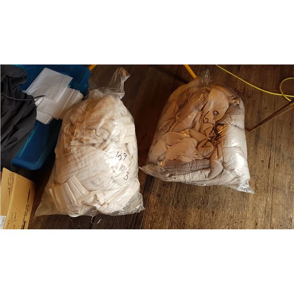 2 Bags Curtains / Blankets Etc.