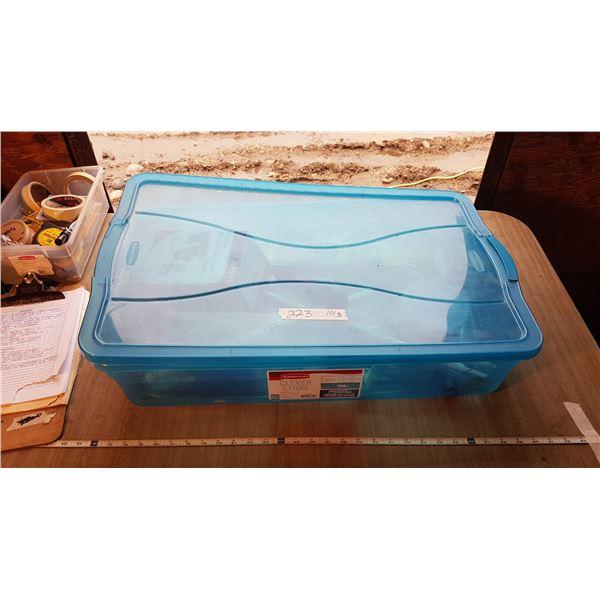 Tub & Blood Pressure Monitor & Misc. Items