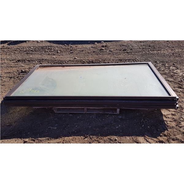 Sliding Glass Doors 54.5 X 102.5 Inch (1 Glass Cracked)