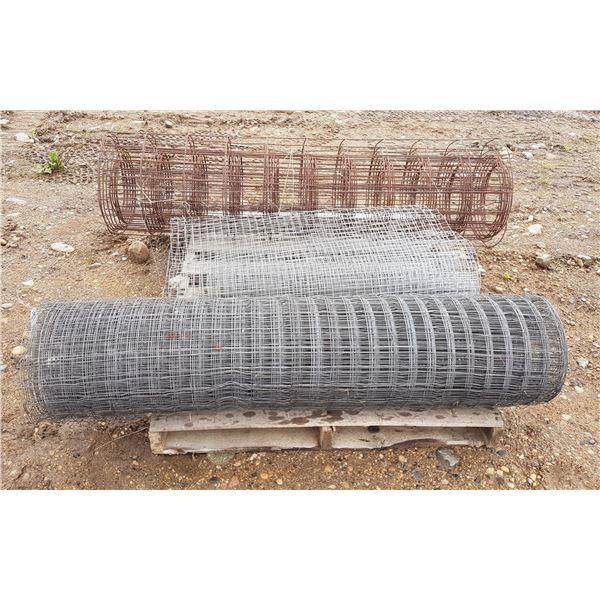 """Lot Mesh Fencing (Rolls 36"""" To 60"""" Wide)"""