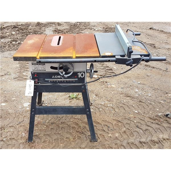 """Delta 10"""" Table Saw (Table Extension)"""