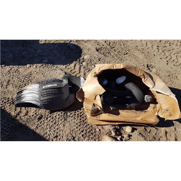 Lot Plastic Goose Decoys