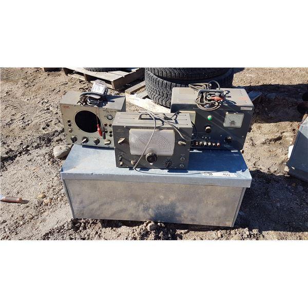 Metal Box & Signal Generator & Signal Tracer & Power Supply