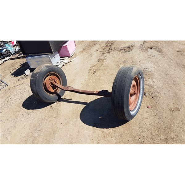 """Axle Approx. 64"""" Wide"""
