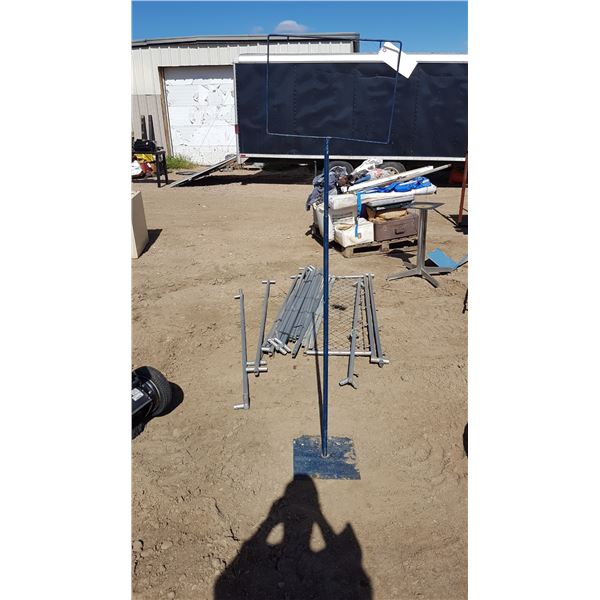 Sign Stand Adjustable Height