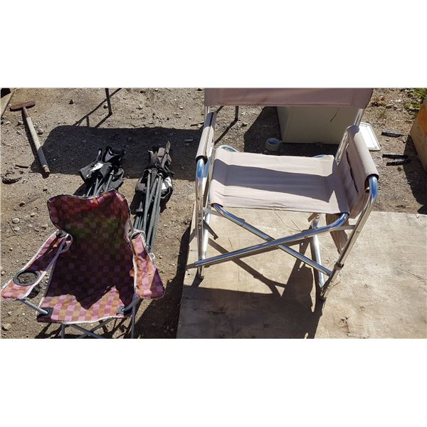 Lot 4 Camping Chairs