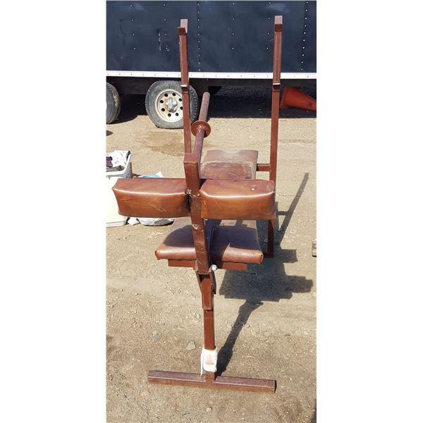 Homebuilt Weight Bench