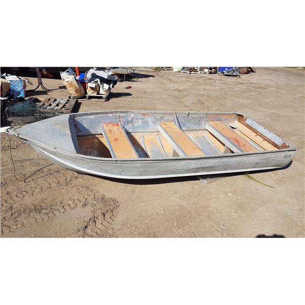 12' Aluminium Boat