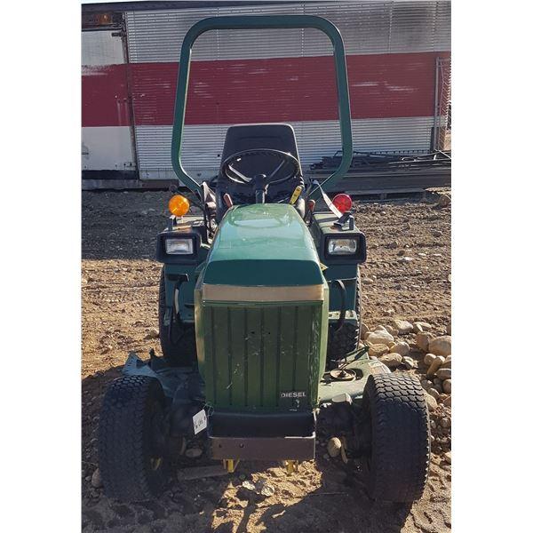 John Deere 655 Diesel Garden Tractor With Mower