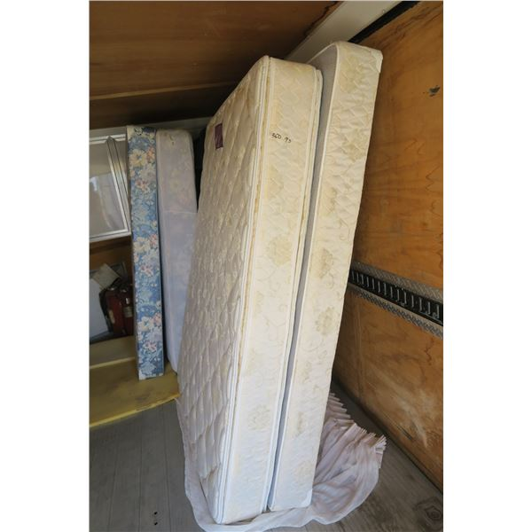 Double Pillow Top Mattress and Boxspring