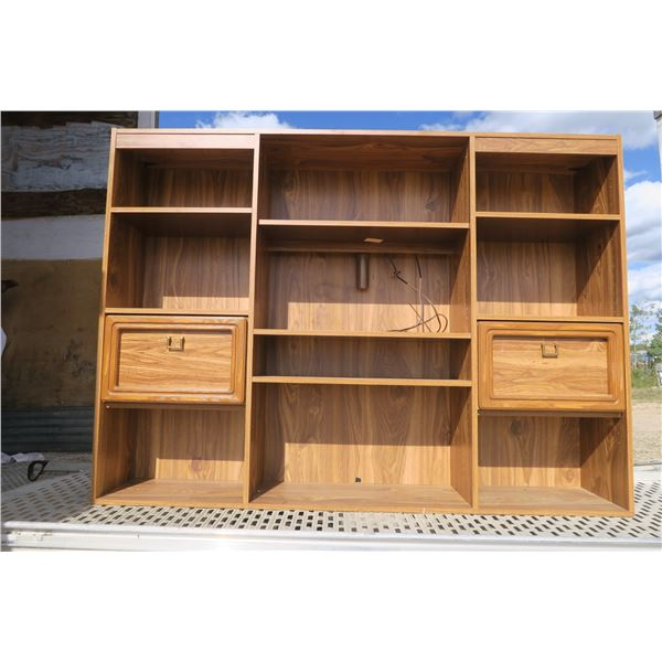 Entertainment Center 70.5X12X51 and 70.5X20X20