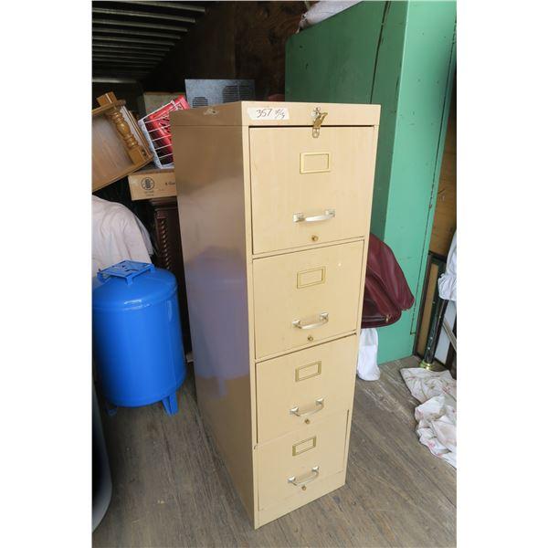 4 Drawer Filing Cabinet 15X27X23