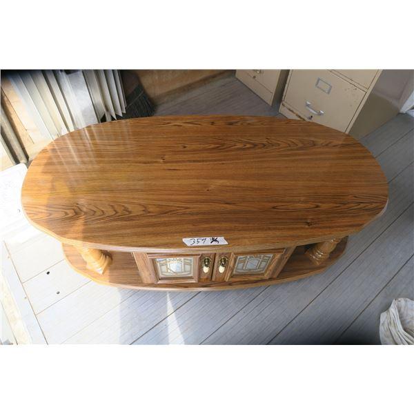 Vintage Coffee Table 48X24X16