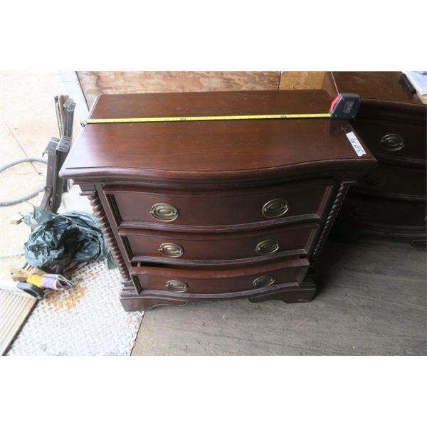 "4 Drawer Night Table 32 1/2X18"""