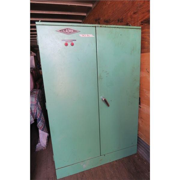 Heavy Industrial Steel 2 Door Cabinet