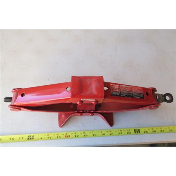 1.5 Ton Motomaster Scissor Jack No Handle