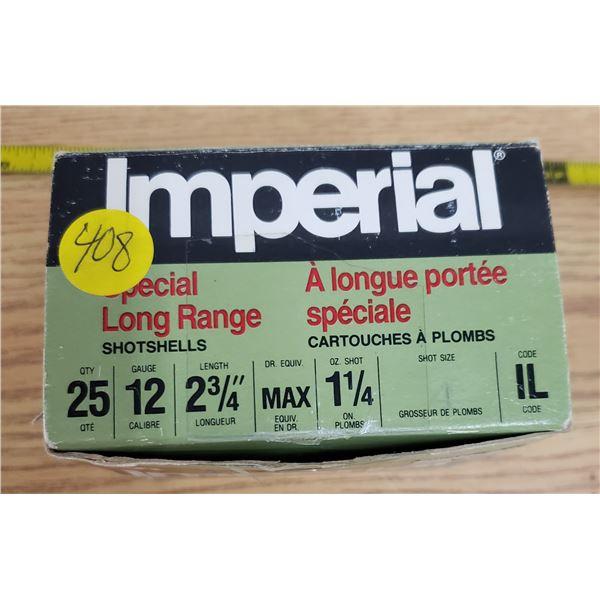 mixed shotgun shell box -includes Imperial Special long range shotshells *NO SHIPPING* *PAL REQUIRED
