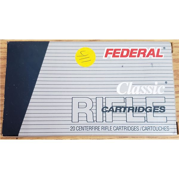 box of 308 WIN. Federal ammunition *NO SHIPPING* *PAL REQUIRED*