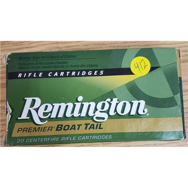 Remington 7 mm Premier Boat Tail Ammunition *NO SHIPPING* *PAL REQUIRED*