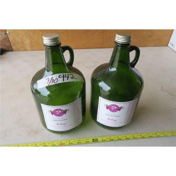 Tokay Altar Wine Bottle X 2