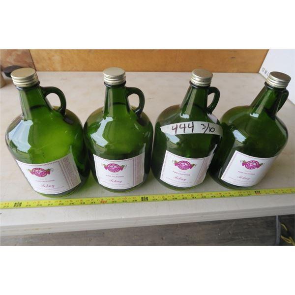 Tokay Altar Wine Bottles X 4