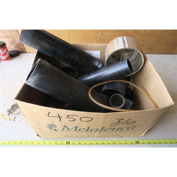 Box of misc. PVC Plumbing