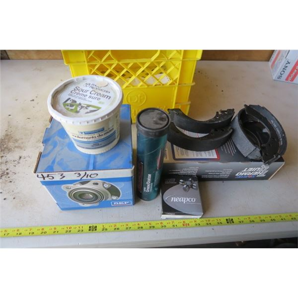 Misc. Automotive, Hub, Ujoint, Brake Shoes & Grease