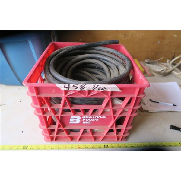 Milk Crate of Heavy Electrical Wire (4wire)