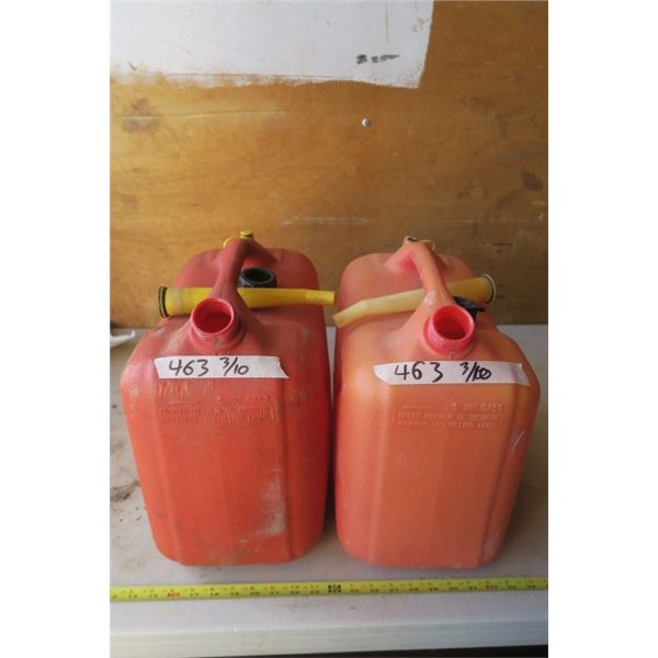 2 6 Gal. Gas Cans
