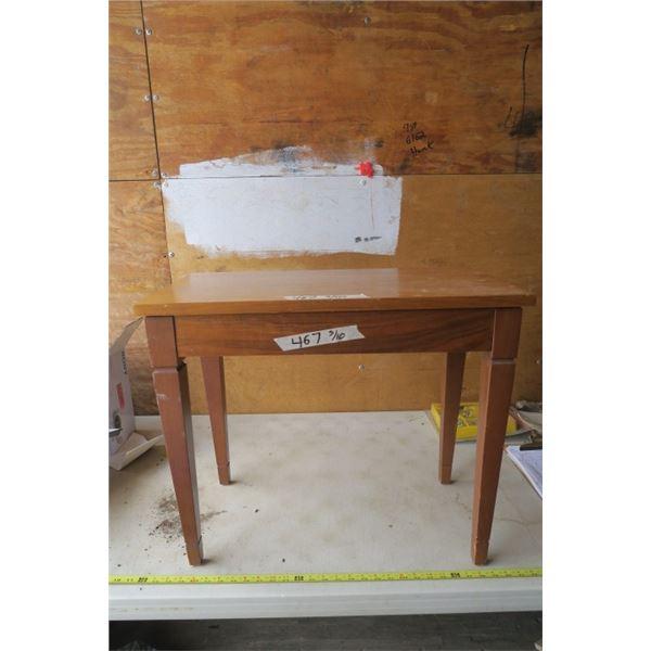 Piano Bench with Broken Hinge