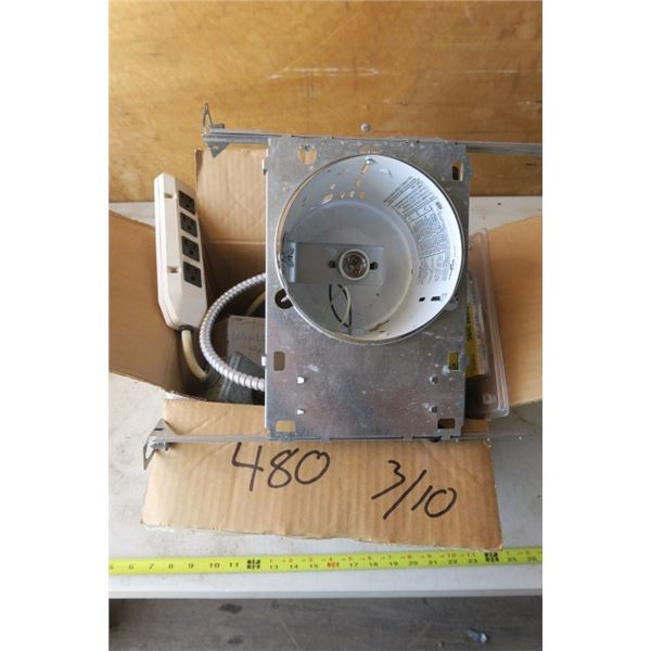 Box of Electrical and Bolts