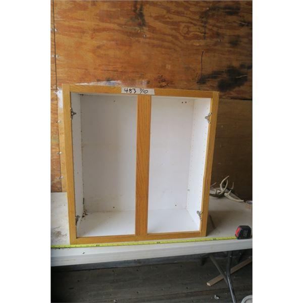 Cabinet Missing Doors 28X12X30