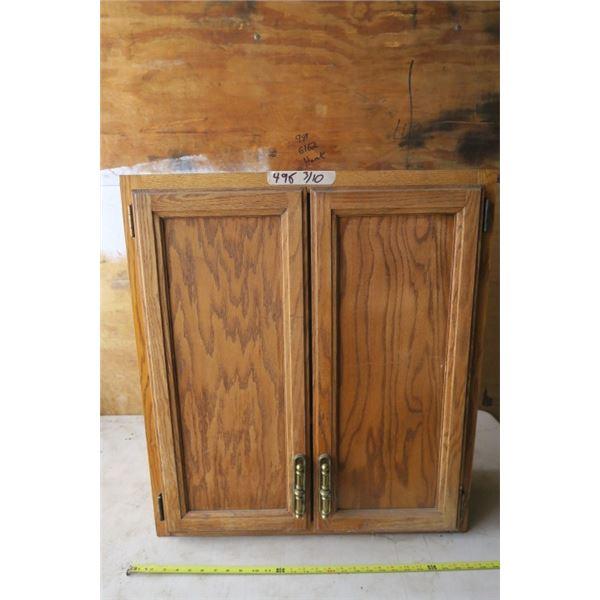2 Door Cupboard 26.5X9X30.25