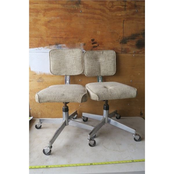 2 Retro Office Chairs