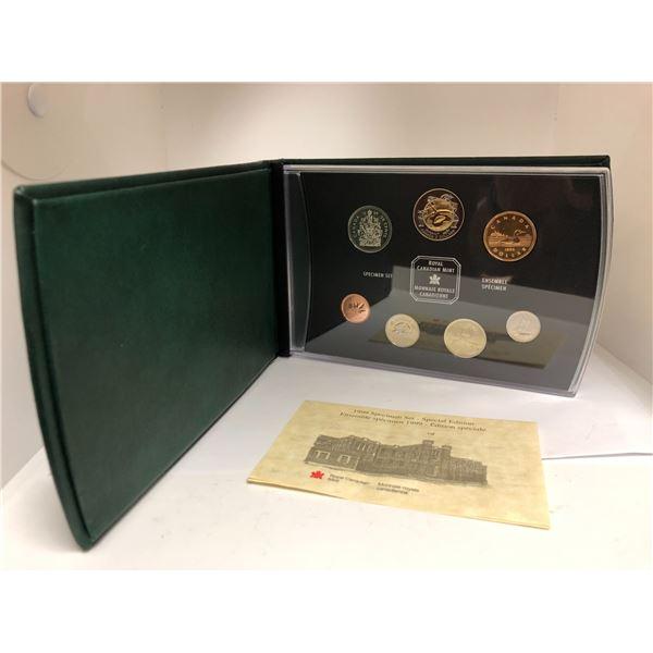 Royal Canadian Mint 1999 Specimen Set - Special Edition Coin Set