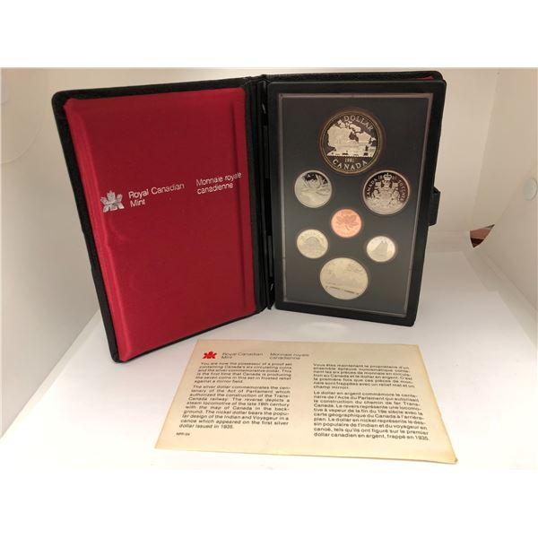 Royal Canadian Mint 1981 Coin Set