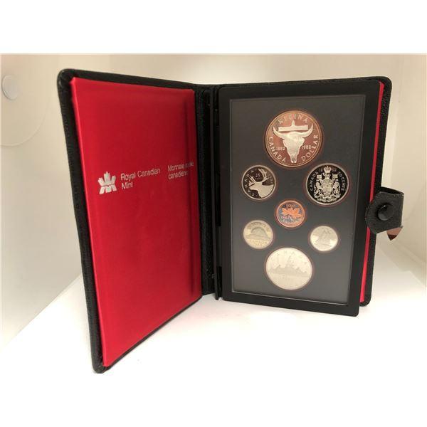 Royal Canadian Mint 1982 Coin Set