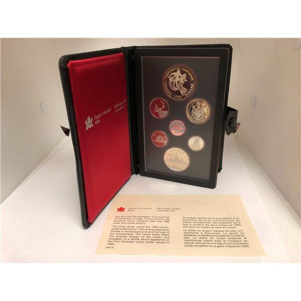 Royal Canadian Mint 1983 Coin Set