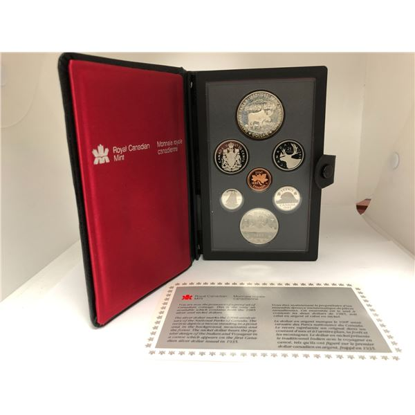 Royal Canadian Mint 1985 Coin Set